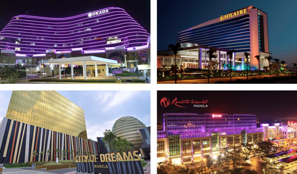 マニラ空港周辺の巨大カジノ