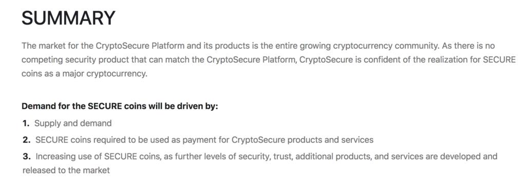 CryptoSecureの概要