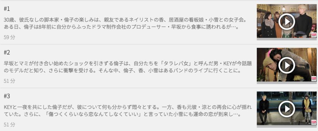 U-NEXTならドラマ版「東京タラレバ娘」も見放題!