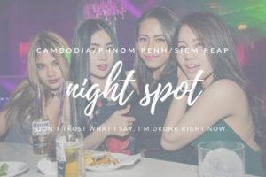 【2018年最新】カンボジア夜遊び完全ガイド!【プノンペン/シェムリアップ】