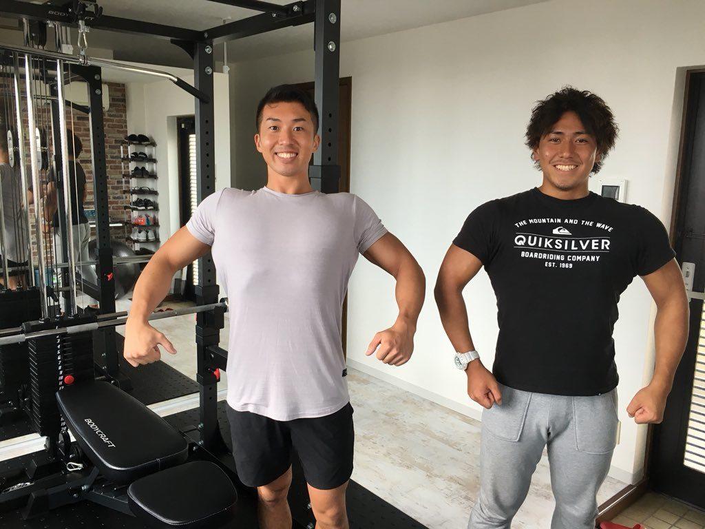 かたぎり塾のトレーナーを紹介!片桐さん(左)木村さん(右)