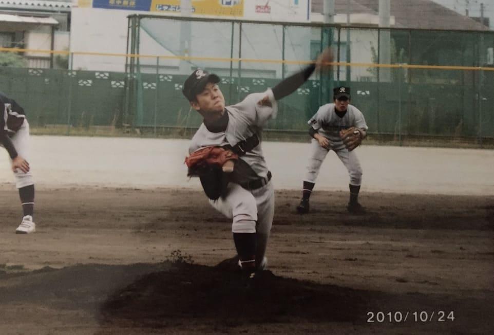 高校球児の頃のゴーゴーケンゴ
