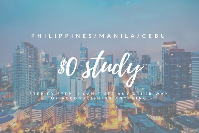 【体験談】フィリピンでガチの0円留学するならセブ島よりマニラが圧倒的におすすめの理由。